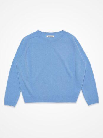 Wool Cashmere Round-neck pullover