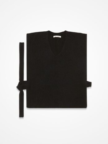 Racoon blended tie-able Vest