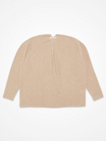 Cashmere V-neck pullover