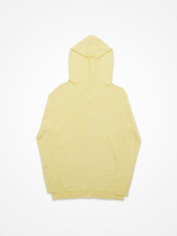 Hoodie Cardigan / Yellow
