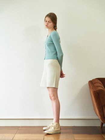 Standard Knit pants_BLACK,LIGHT GRAY