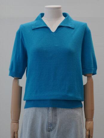 Collar Half-sleeved pullover